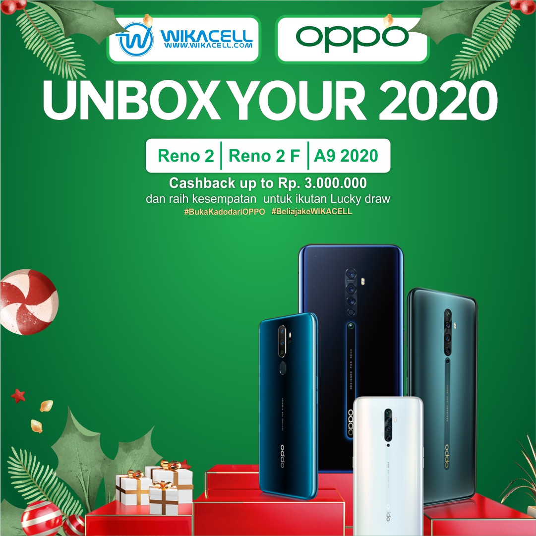 Unbox Your 2020 OPPO