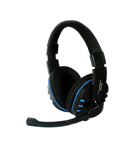 Mediatech MSH-016 Headset Gaming - Blue