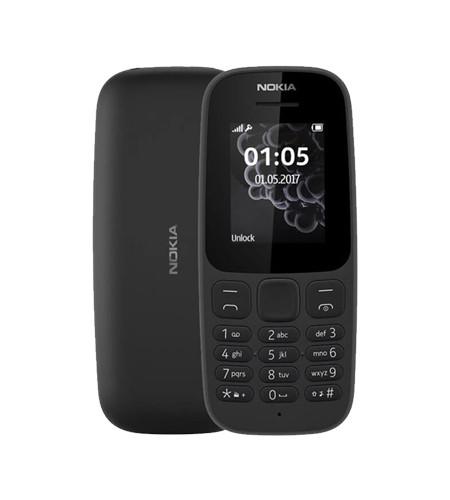 Nokia 105 Dual SIM TA-1034 - Black