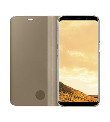 Samsung S8 Case View Standing Cover - Gold